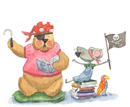bear and mouse 2